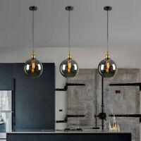 3X Glass Pendant Light Kitchen Chandelier Lighting Bar Lamp Room Ceiling Lights