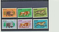 1962 Wild Jungle Animals Guinea #248 - 253 Mint NH Complete $7.80 Retail Value !