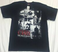 3e1550e8aef7 NWT Johnny Cash T Shirt Size Large 2008 Black Hot Topic New With Tag