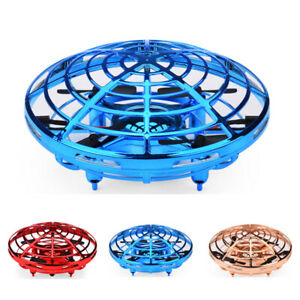 360° Mini Drone Smart UFO Aircraft for Kids Flying Toys RC Hand Control Xmas