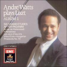 Andre Watts Plays Liszt - Album 1 - Six Grand Etudes after Paganini; Au Lac de W