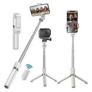 Bluetooth Selfie Stick Stativ,Handy & Kamera Stativ für iPhone, Samsung, GoPro