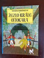 Tintin - Le sceptre d'Ottokar  en TCHEQUE ALBATROS NEUF!!!