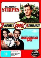 STRIPES / GROUNDHOG DAY Bill Murray DVD NEW