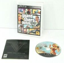 Grand Theft Auto V 5 GTA 5 V (Sony PlayStation 3, PS3) with case and manual