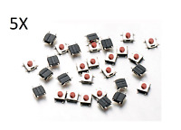 5x BOTONES TÁCTILES 6x6x2.5 mm SMD PCB arduino micro mini switch button push cs