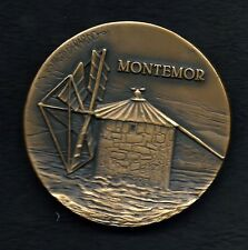 "BRONZE MEDAL OF PORTUGUESE WINDMILL ""MONTEMOR"" BY VASCO BERARDO. M31"
