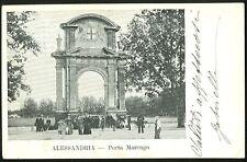 Piemonte Alessandria Porta Marengo cartolina 322 SZN