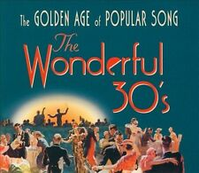 NEW The Wonderful 30s: The Golden Age Of Popular Song (Audio CD)