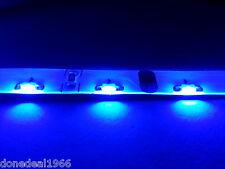 BLUE 3 PIN MODDING PC MOBO BACKLIGHT CASE LED STRIP TWIN 40CM STRIPS