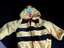 Bumble Bee and Lady Bug fleece toddlers fleece jacket 2T- 3T Handmade reversable