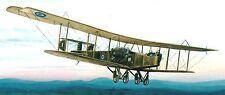 O/400 Handley Page UK Bomber Airplane O400 Mahogany Kiln Dry Wood Model Small
