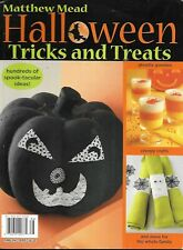 Matthew Mead Halloween Magazine Patterns Basic Recipes Easy Treats Decor 2008