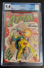 Atom 36 CGC 9.4 OW/W Off-White to White Pages G.A. Golden Age Atom crossover app
