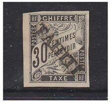 TAHITI - 1893,30c noir frais d' ENVOI A CAUSE DE TAMPON - Excellent état no gum