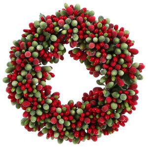 "Raz Imports 6.5"" Beaded Berry Candle Ring (3710118)"