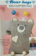 KNITTING PATTERN Teddy Bear Character Cushion Cover Sofa Love Heart DK PATTERN