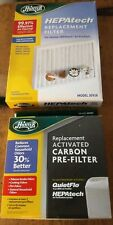 New HUNTER HEPAtech AIR FILTER 30928 + Carbon Pre-Filters 30901- 6 Month Supply