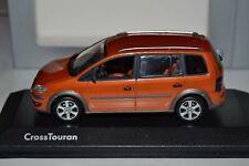 1/43 Minichamps VW Volkswagen Cross Touran Van Red Rock Metallic 2007-2010