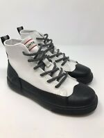 NEW Hunter X Target Dipped Canvas Hi-Top Lace Up Boot Shoes Kids Childrens US 2