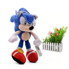 30cm Sonic Soft Doll Blue Cartoon Animal Stuffed Peluche Plush Toys Figure Dolls