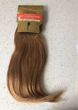 "12"" Yaki Human Hair Extensions Weft Track 100g  Colour 27 Strawberry Blonde"