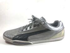 PUMA Men's Sz 13 303068 Silver Low Casual Sneakers RARE Retro Pop