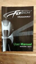 Wowee Flytech RC Dragonfly User and Repair manual model 4031