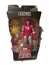 Marvel Legends Iron Man Silver Centurion Action Figure..brand new unopened box