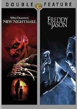 Wes Craven's New Nightmare/Freddy vs. Jason New (Dvd, 2015, 2-Disc Set)