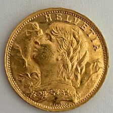 Schweiz 20 Franken 1947 B  Vreneli  6,45 Gramm  900 Gold  Coin Switzerland