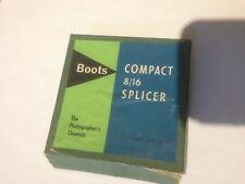 Boots Compact 8/16 Splicer . Vintage item.