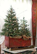 Splendida SLITTA natalizia decorazione scenografia Natale - effetto antico