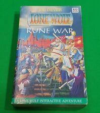 Rune War ***VGC!!*** Joe Dever Lone Wolf Red Fox #1