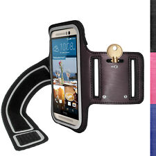 Running Sports Armband for HTC One M9 2015 Fitness Gym Case Cover Jogging