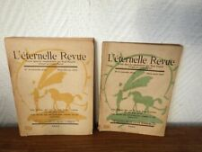 Paul Eluard & Louis Parrot L'ETERNELLE REVUE Nr 2 et 3 (1945)