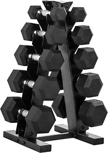 CAP Barbell 150-Pound Dumbbell Set with Rack, Multiple Options