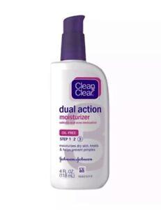 Clean & Clear Essentials Dual Action Facial Moisturizer 4 oz