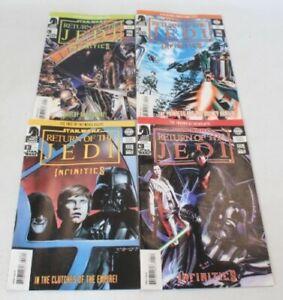 STAR WARS: RETURN OF THE JEDI INFINTIES #1 - 4 Complete Comic Book Series - I05