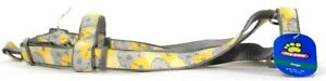 """1 Count Top Paw Large Girth 22"""" To 39"""" Bella Floral Gray Adjustable Harness"""