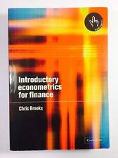Introductory Econometrics for Finance, Brooks, Chris