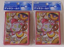 Japanese Pokemon Official Card Sleeves, Hoopa 2 Packs(64) sealed