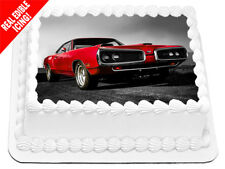 Dodge Car Edible Cake Image Icing Personalised Birthday Party Topper