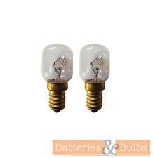 25w SES Small Screw Oven Bulb Lamp 300° Crompton E14 240v | Pack of 2