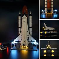 Led Light kit for LEGO 10231 Space Shuttle Expedition Model lighting 10231