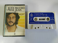 JUAN PARDO MUCHO MAS JUAN CINTA CASSETTE 1980 SPANISH EDITION PAPER LABELS