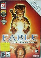 Fable The Lost Chapters PC CD-ROM Game Complete CIB Lionhead