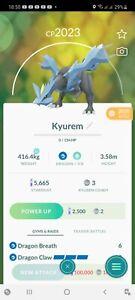 Pokemon Legendary Go Kyurem Same Day Trade Or 30 Day