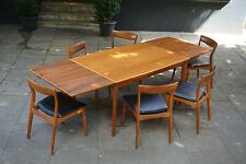 Vintage 6x Stühle Tisch Chair Denmark 60er 70er Danish Teak Midcentury