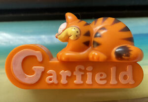 Rare Garfield Mini Tape Dispenser Office Tool Vintage
